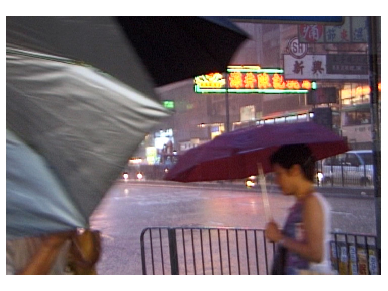 Rain in Hong Kong